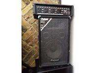 Prosound 300w speaker x2 and prosound n73hh 4channel amp