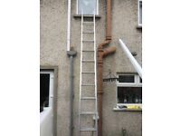 Aluminium Ladders 2 Section. Little use. Good condition.