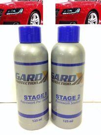 Genuine Gard Protection Gard X Paintwork Sealant 2 Stage Car Polish - 125ml