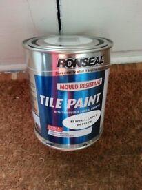 Ronseal tile Paint x3