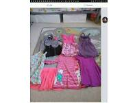 Bargain bundle of 7 dresses age 5-6
