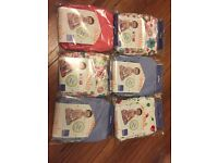 6x brand new reusable nappies
