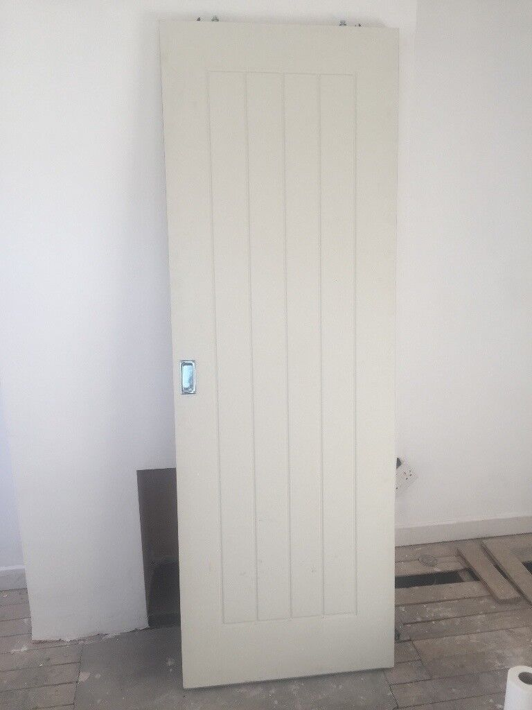 Sliding Country Door Fire Door On Hanging System In Bishopbriggs