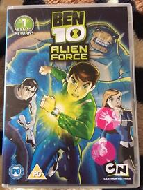 Ben Ten Alien Force Volume 1, 2 & 3