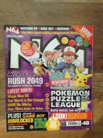 10 x N64 Magazine + other Nintendo mags