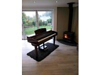Yamaha Clavinova CVP 409 PM Fully Serviced Polished Mahogany Beautiful Digital Piano