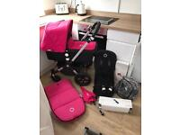 Immaculate pink or will sell without for boy/unisex bugaboo cameleon 3