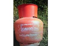 Small propane gas bottle for caravan camping motorhome campervan
