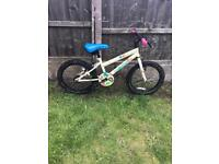 """APOLLO WOODLAND CHARM GIRLS 18"""" BIKE, fully working and good used condition"""