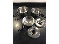 Camping Cook Set. German. 3 Piece. As New!