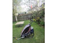 Thule Chariot CX1 bike trailer/pushchair/jogger in very good condition