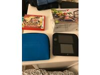 Nintendo 2DS. Boxed. W Mario Kart 7 & Pokemon Omega Ruby