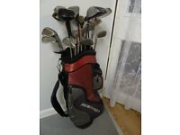 SET OF GOLF CLUBS £12 ono.