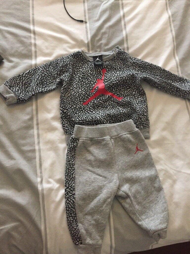Baby's Nike Air Jordan tracksuit