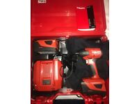 BRAND NEW, NEVER USED Hilti drills for sale combo, impact and SDS