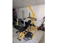 Full gym set up top gear