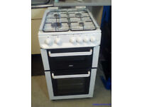 USED WORKING GAS COOKER 50CM ZANUSSI (ZCG563FW)