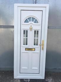 Used Upvc White Front Door