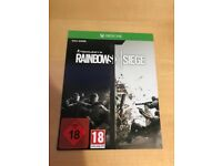 rainbow six siege full game dl , xbox one ! price stands , no offers !