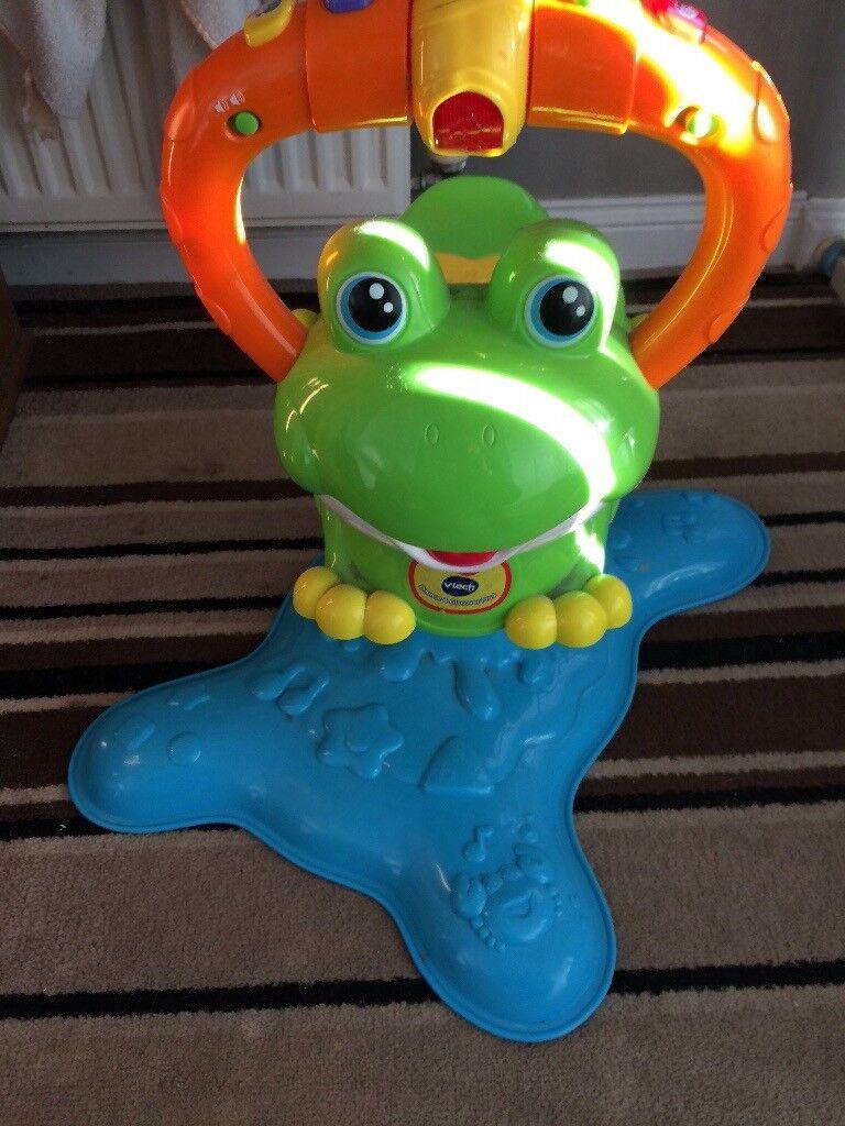 Jumping frog
