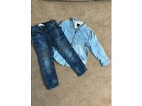 Boys Jeans and shirts