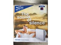 Vent Axia 'sound of silence' fan, BNIB, Part F compliant for bathrooms