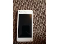 White Sony experia mobile phone open to any network excellent condition pick up only