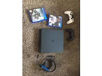 PS4 console with all the extras