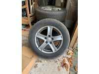 Winterised alloys fitted with Uniroyal tyres suitable Nissan Qashqai