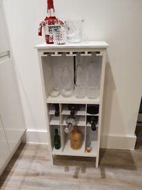 Wine Rack Storage Display Table