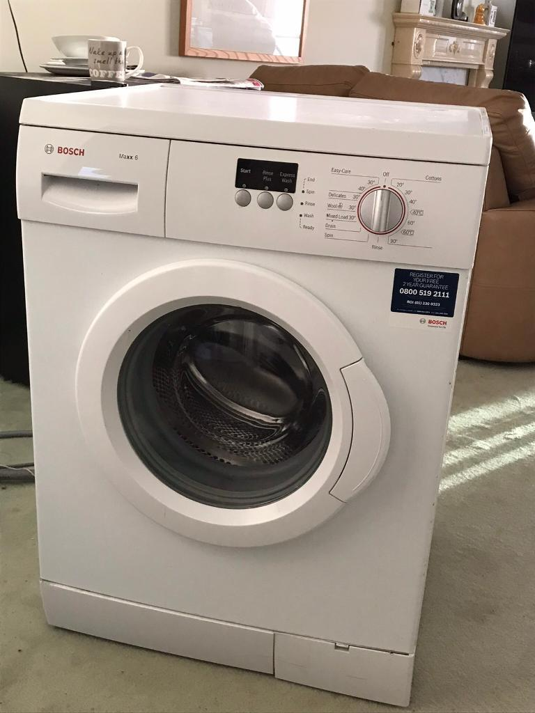 bosch maxx 6 washing machine in lee on the solent hampshire gumtree. Black Bedroom Furniture Sets. Home Design Ideas