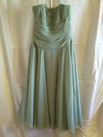 ELEGANT GREEN PARTY DRESS -- ROBE DE SOIREE VERTE