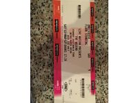 1 x The Weeknd Standing Ticket, Newcastle Metro Radio Arena TONIGHT