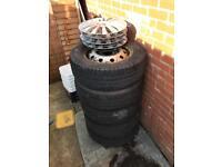 Steel wheels from Renault master van