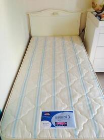 Silentnight 3ft single mattress - plus duvet gift (New without original packaging)