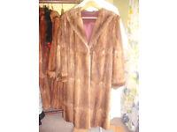 A Job Lot of Vintage Fur Coats ~ Jackets ~ Capes.
