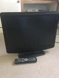 "LCD TV/DVD combi 17"""