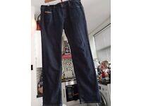 Diesel black 34 waist Ronhy stretch jeans