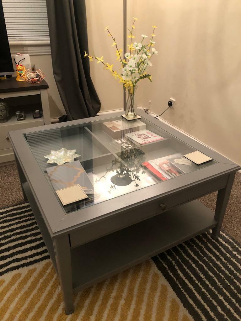 Ikea Liatorp Coffee Table Grey In Stenhouse Edinburgh Gumtree