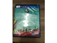Brand new no mans sky ps4