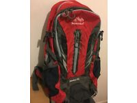 100% new 40L backpack in red