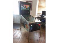Star Wars Themed Virtual Pinball Machine Arcade Machine With Over 200 Tables