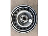 1x BRAND NEW RENAULT MEGAN / SCENIC STEEL Wheels 16'' 6.5Jx16 H2F ET49