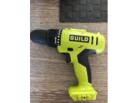 Brand new guild 18v cordless drill driver bare unit