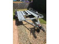 Brian James twin axle car trailer
