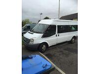 08 ford transit minibus with wheelchair ramp bargain