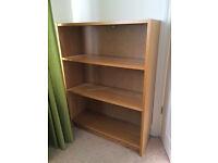 BILLY Bookcase IKEA - Oak Veneer. Three Shelves.