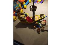 Jake and the neverland pirates toys x2