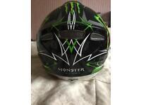 Monster energy helmet large