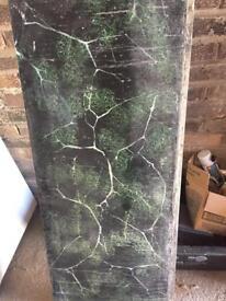 Slate bath panel